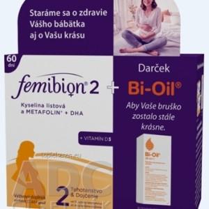 FEMIBION 2 KYS. LISTOVA A METAFOLIN+DHA+VIT.D3
