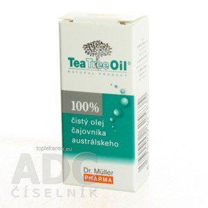 DR. MULLER TEA TREE OIL 100% CISTY