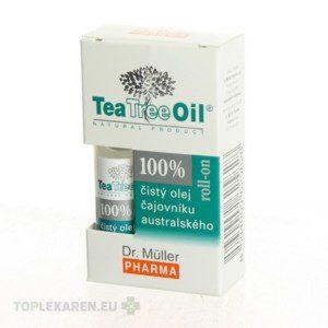 DR. MULLER TEA TREE OIL 100% CISTY ROLL-ON