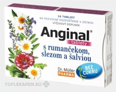 DR. MULLER ANGINAL S RUMANCEKOM, SLEZOM A SALVIOU