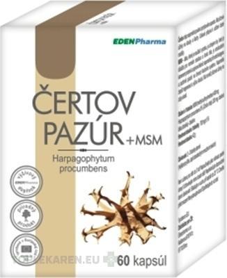 EDENPHARMA CERTOV PAZUR + MSM