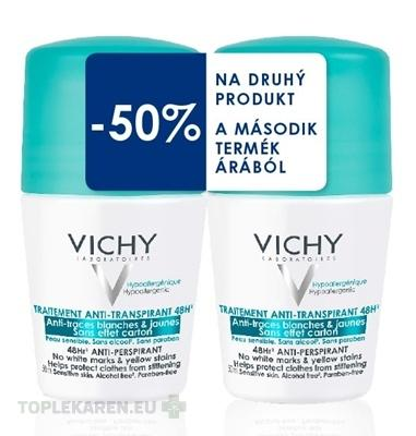VICHY DEO ROLL-ON 48 HOD. ANTI-TRACES DUO 14