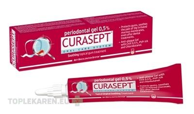 CURASEPT ADS SOOTHING 0,5% PARODONTALNY GEL