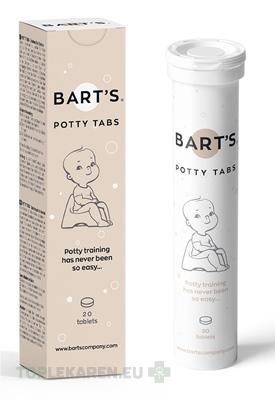 BART?S POTTY TABS - TABLETY DO NOCNIKA