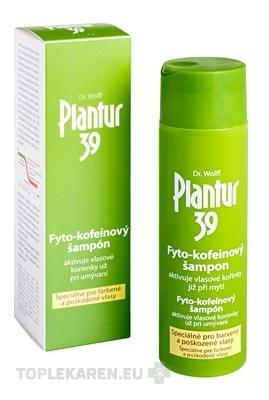 PLANTUR 39 FYTO-KOFEINOVY SAMPON PRE FARBENE VLASY