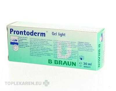 B.BRAUN PRONTODERM GEL LIGHT