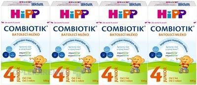 HIPP 4 JUNIOR COMBIOTIK (4-BALENIE)