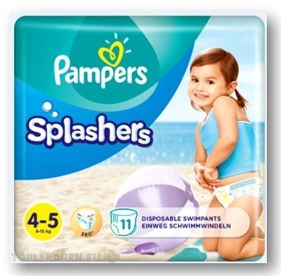 PAMPERS SPLASH MAXI 4-5
