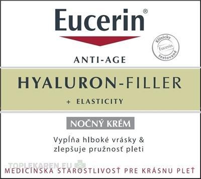 EUCERIN HYALURON-FILLER+ELASTICITY NOCNY KREM